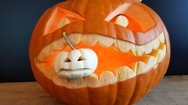 Halloweenkürbise