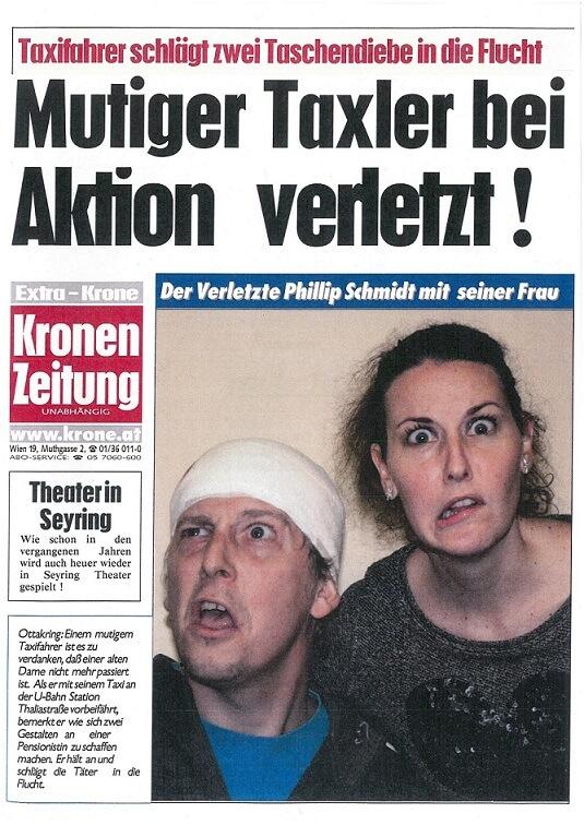 Extra Krone 'Hallo Taxi'